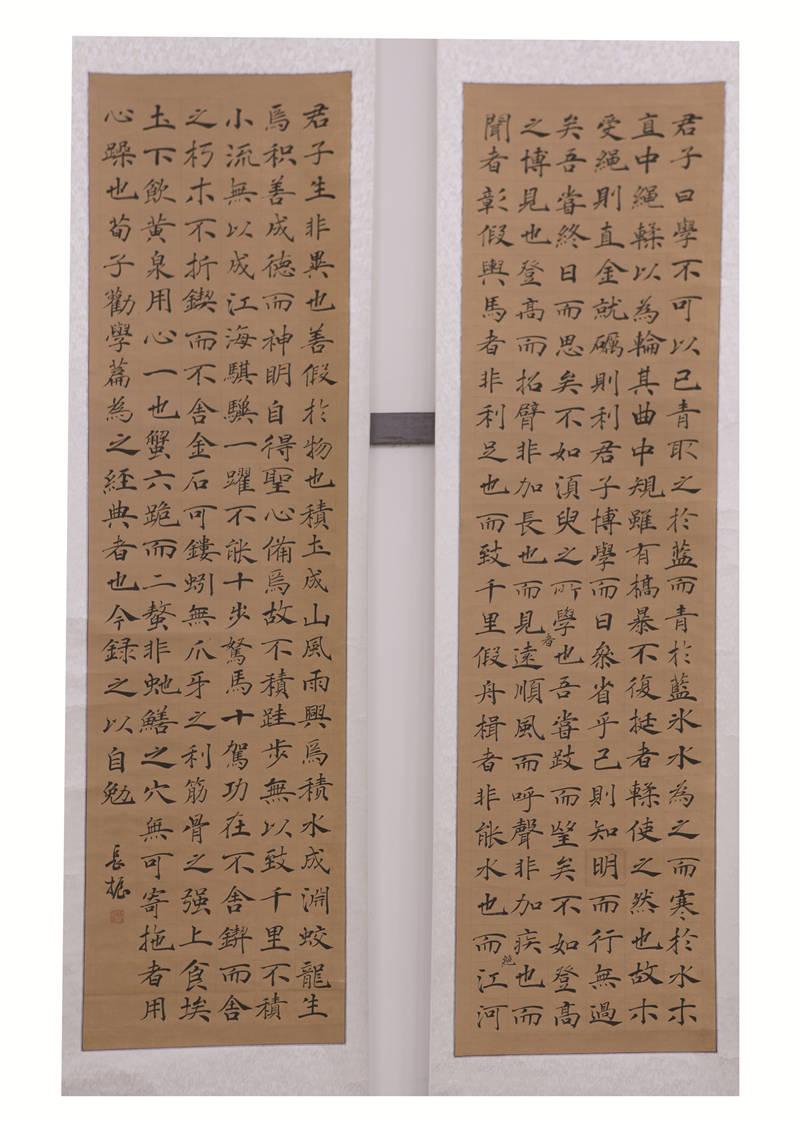 《书法·楷书条屏》杨长振