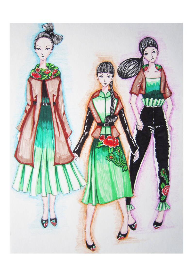《服装·中国风》刘芳