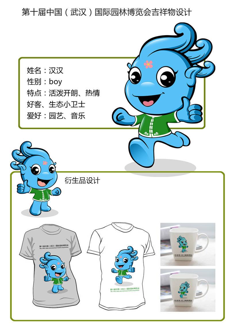 傅甜甜 齐鲁工业大学 吉祥物汉汉-1