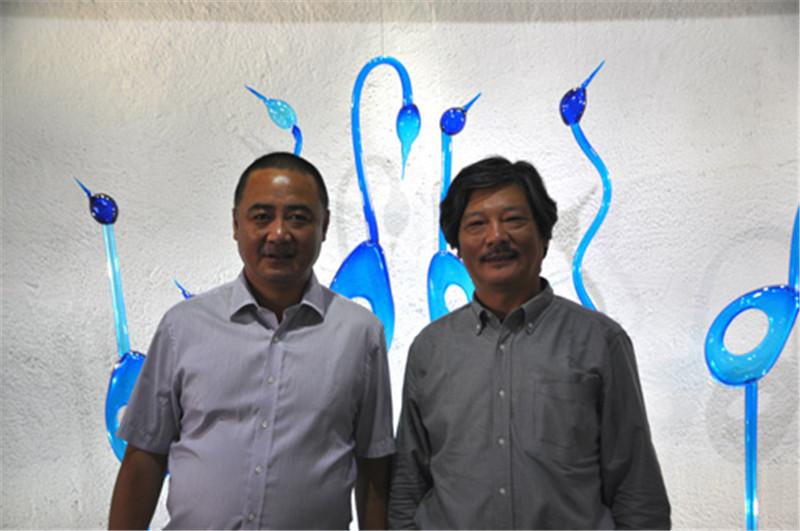 魏嘉教授与西冶工坊李志刚董事长