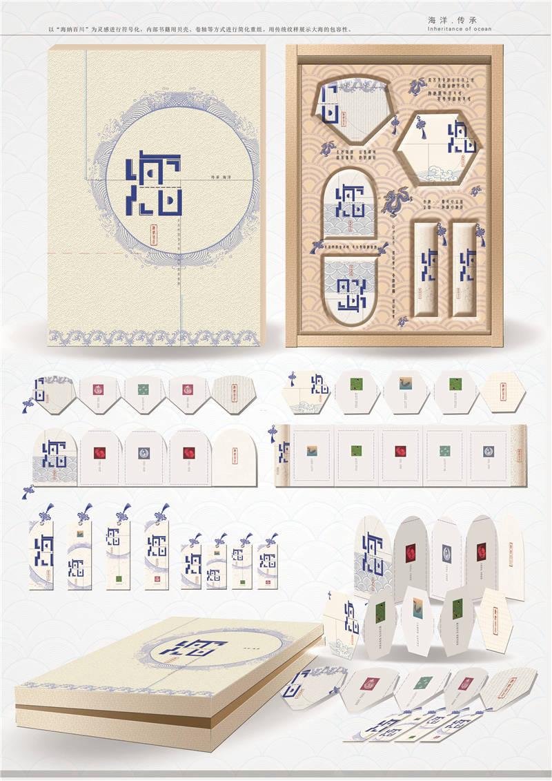 """C类:包装设计-""""海纳百川""""-朱鑫格-齐鲁工业大学"""