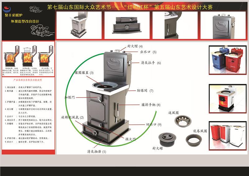 D类 聚丰采暖炉外观造型改良设计 陈健 齐鲁