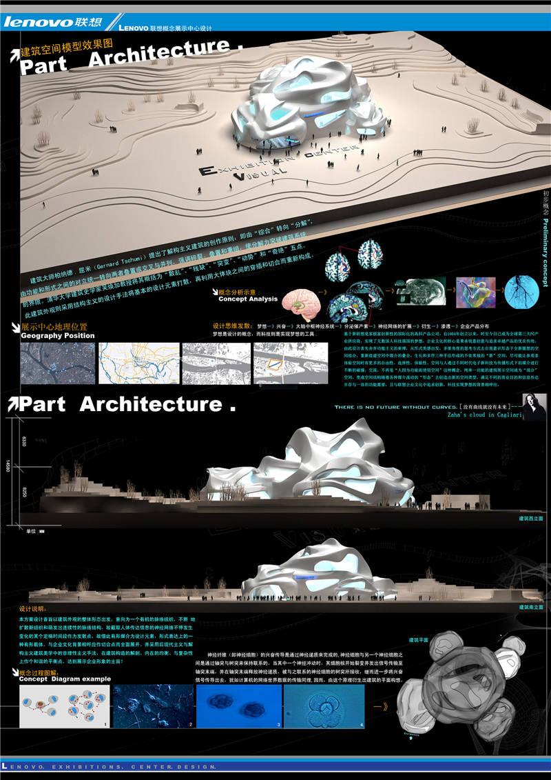 E类环艺设计 联想概念展示中心设计 徐菲 齐鲁工业大学1