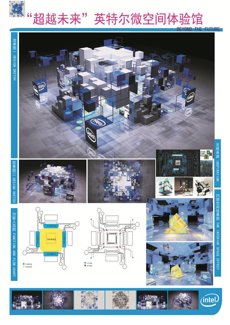 """E类-""""超越未来""""英特尔微空间体验馆-刘婷-齐鲁工业大学"""