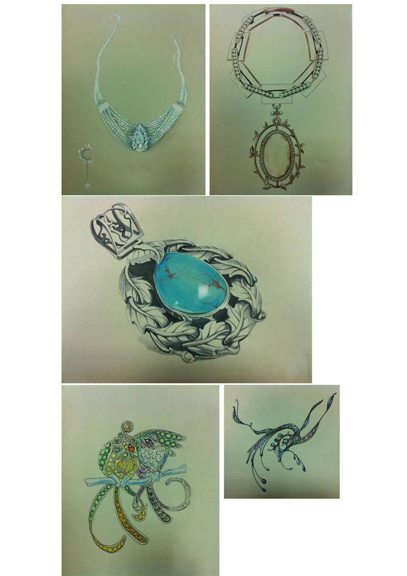 F类 珠宝设计 刘熙霞  齐鲁工业大学