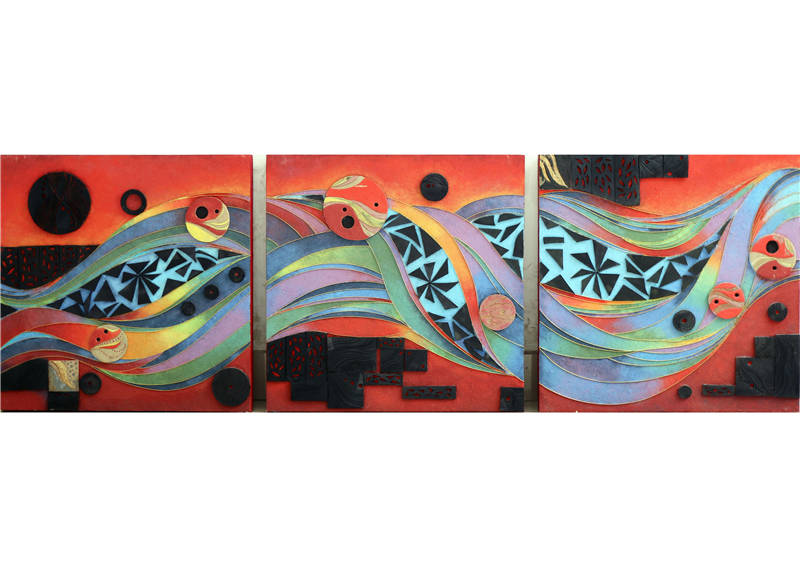 G类-《幻》壁饰装置设计-夏青-齐鲁工业大学